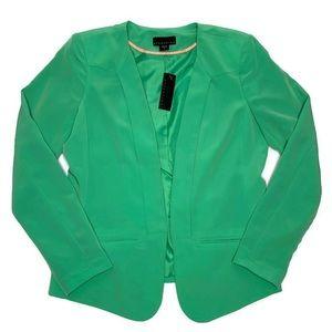 Mint Green Blazer | attention